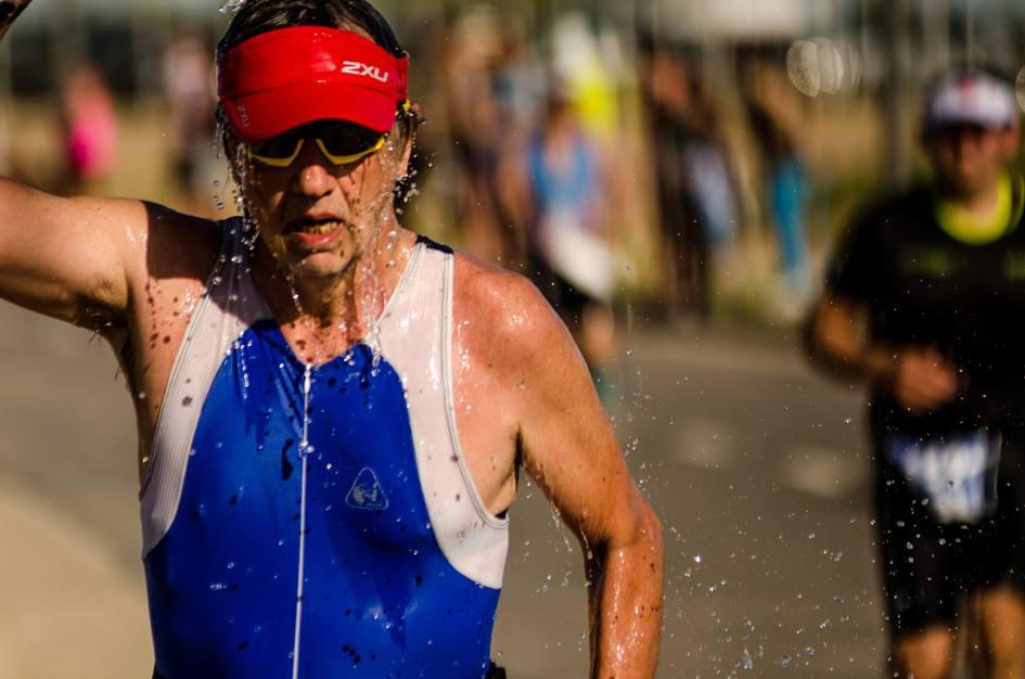 La edad es un número: primer triatlón con 57 años