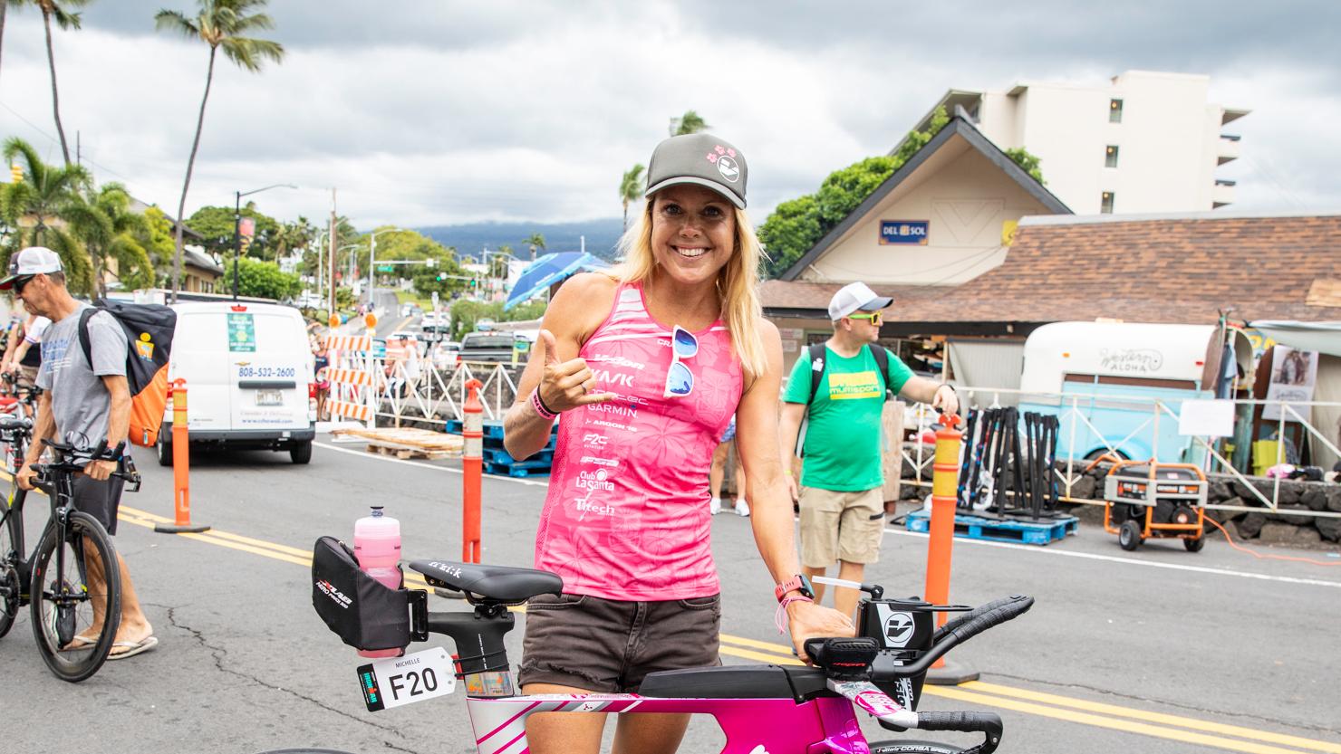 Michelle Vesterby, una triatleta embarazada que entrena más de 20 horas por semana